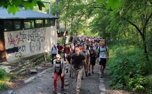 Хиляди почетоха Боян Петров с поход до Копитото