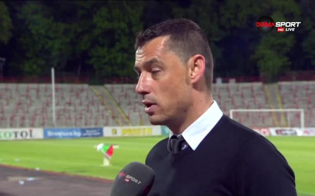 Треньорът на Берое Александър Томаш коментира и мача срещу ЦСКА,