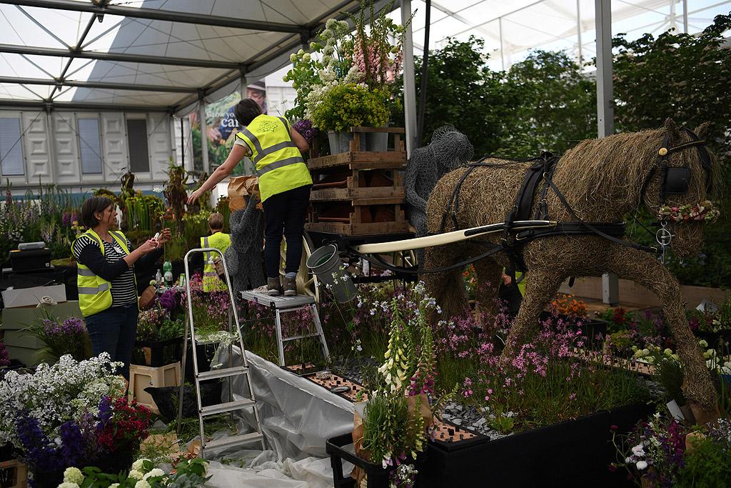 Десетки градинари, цветари и декоратори ще изложат работата си в състезание за титлата за най-впечатляваща градина на едно от най-елитните събития в този бранш в света.