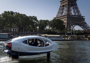 Летящите таксита на Париж