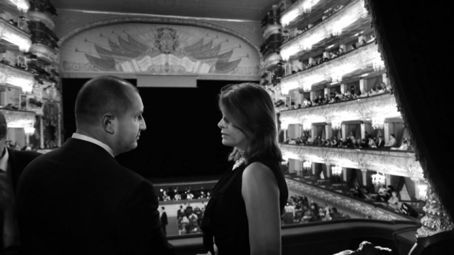 Десислава Радева блесна с тоалет в Болшой театър