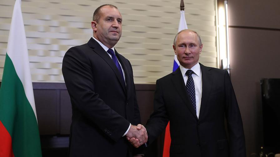Президентът Радев: Русия също трябва да извърви своя път