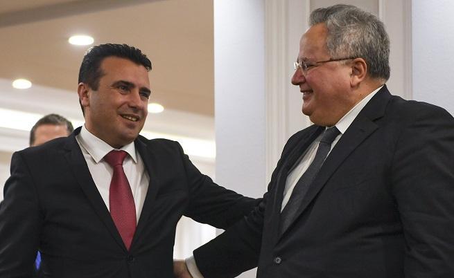 Никос Кодзияс и Зоран Заев