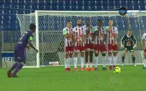 Тулуза с огромна крачка към спасението си в Лига 1