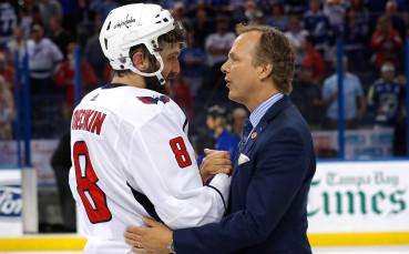 Овечкин преследва Грецки, вкара 650-ия си гол в НХЛ