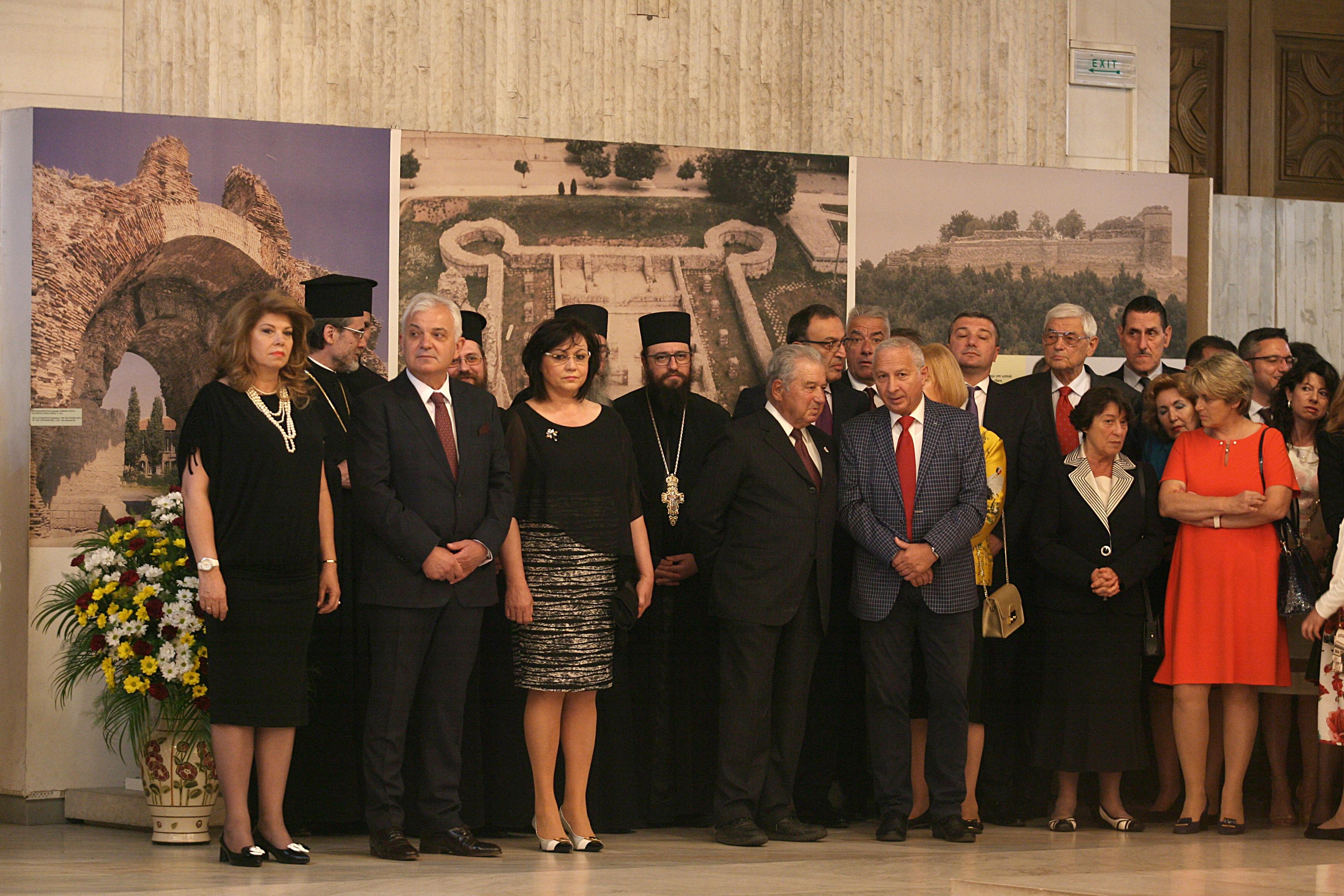 Приемът се организира в сградата на Националния исторически музей.