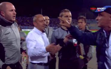 Роси в спор с щаба на Черно море след края на мача