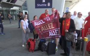 Фенове на Ливърпул и Реал заляха летищата в Киев