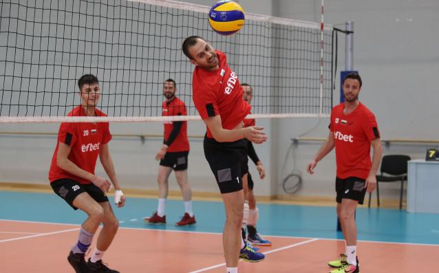 Националният тим на България играе срещу САЩ във втория си