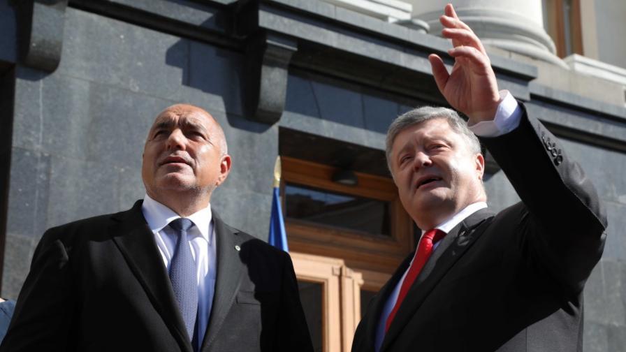 """Борисов пред Порошенко: Вълшебната дума е """"мир"""""""
