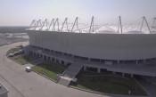 Поглед отгоре към стадиона в Ростов, който ще посрещне 5 мача на Световното