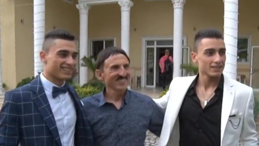 Балът на синовете на Милко Калайджиев - после ги праща на общежитие