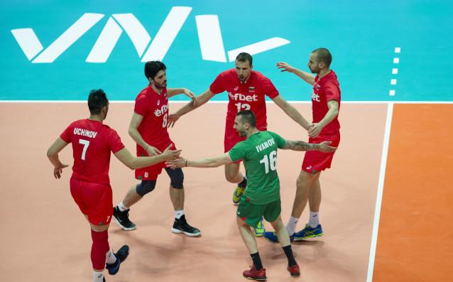 Българският национален отбор по волейбол (мъже) източник: volleyball.bg