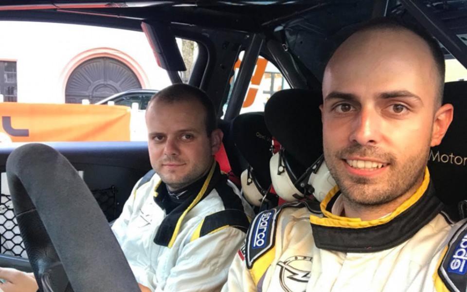 Дани Попов/ Ангел Башкехайов с успешно завършено рали Заксен
