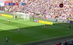 Родъръм Юнайтед - Шросбъри Таун 1:0 /първо полувреме/