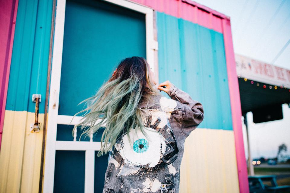 Коса цвят