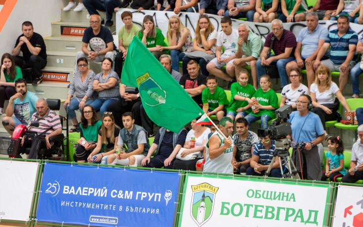 НБЛ: Публиката на БК Балкан може да бъде само за пример