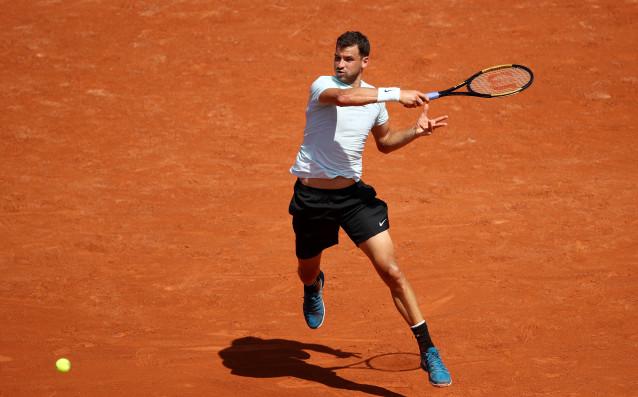 Най-добрият български тенисист Григор Димитров запази позиции в световната ранглиста