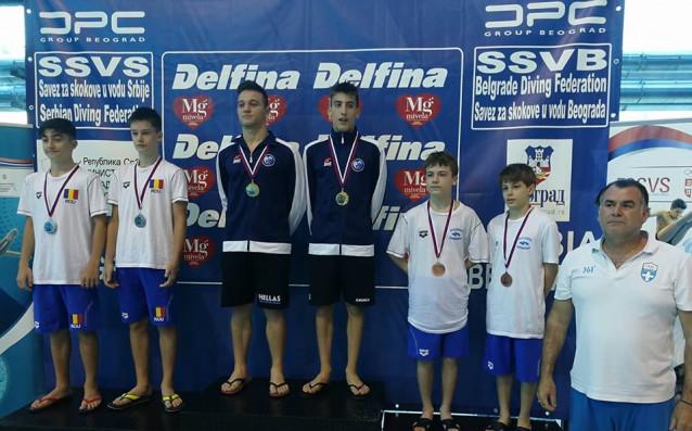 Общо девет медала завоюваха скачачите ни на завършилата Балканиада по