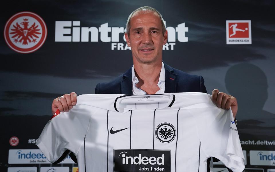 Треньорът на Франкфурт: Най-големият ни успех? Накарахме всички да говорят за нас