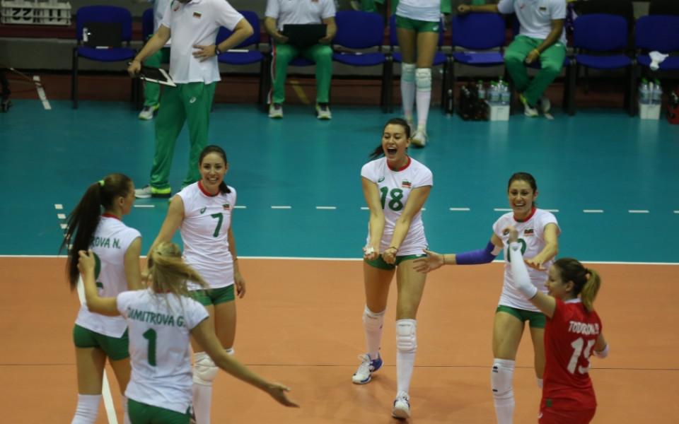 България допусна първа загуба в Златната европейска лига по волейбол