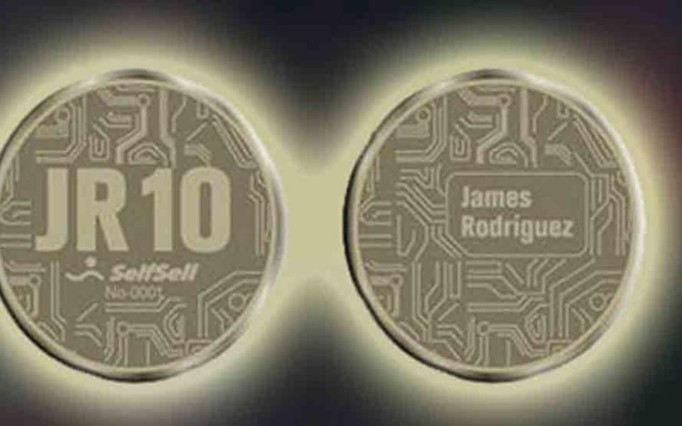 Хамес Родригес създаде свой собствен Bitcoin