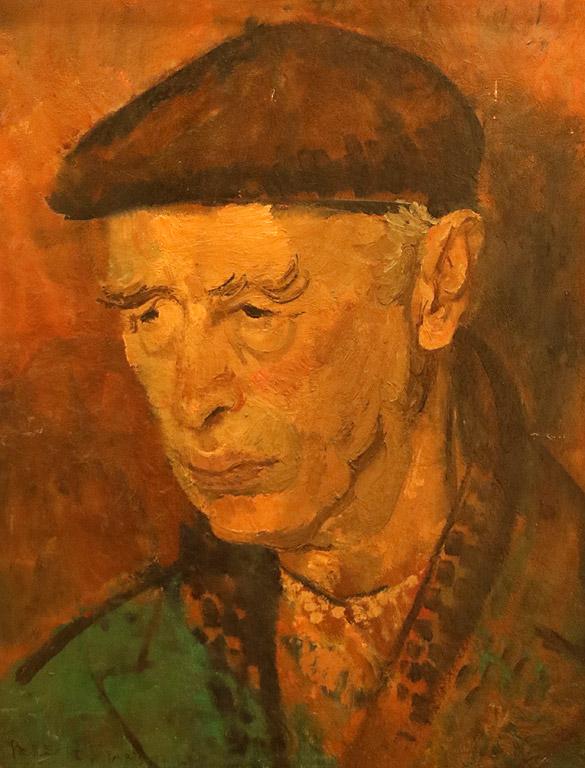 Давид Перец (1906-1982) портрет на Златю Бояджиев 1964 г.