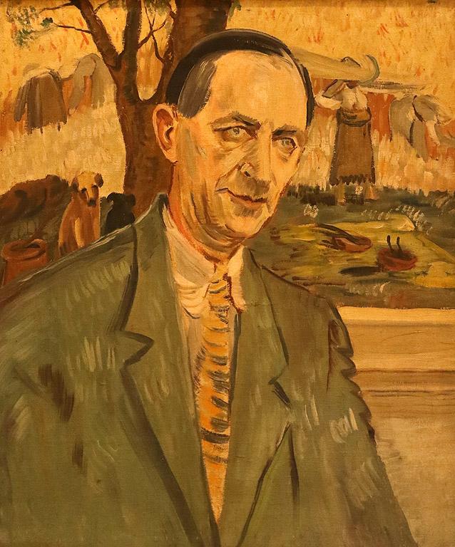 Портрет на художника Васил Стоилов, 1950-те