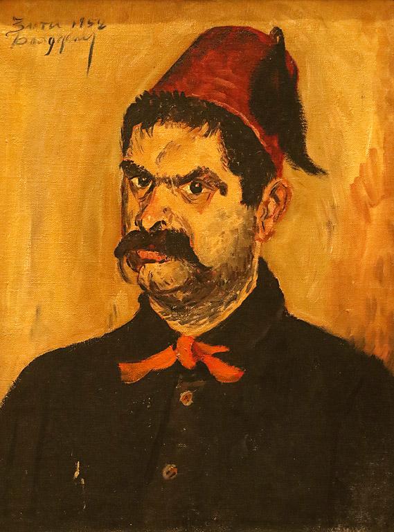 Портрет на художника Христо Нейков, 1952 г