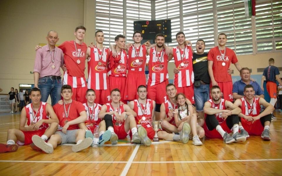 ЦСКА с бронз при баскетболистите до 19 години