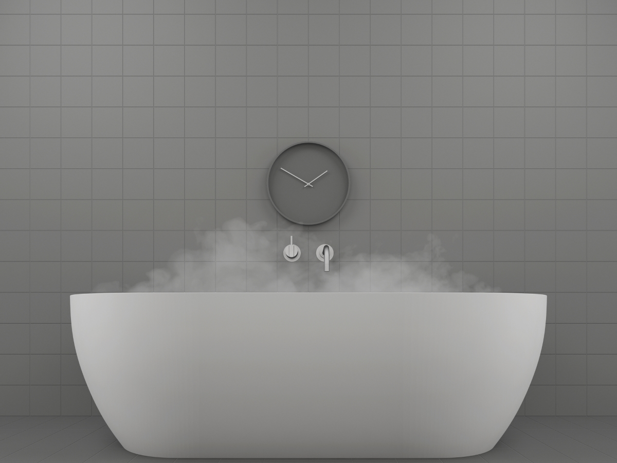 Не стойте дълго време в банята.