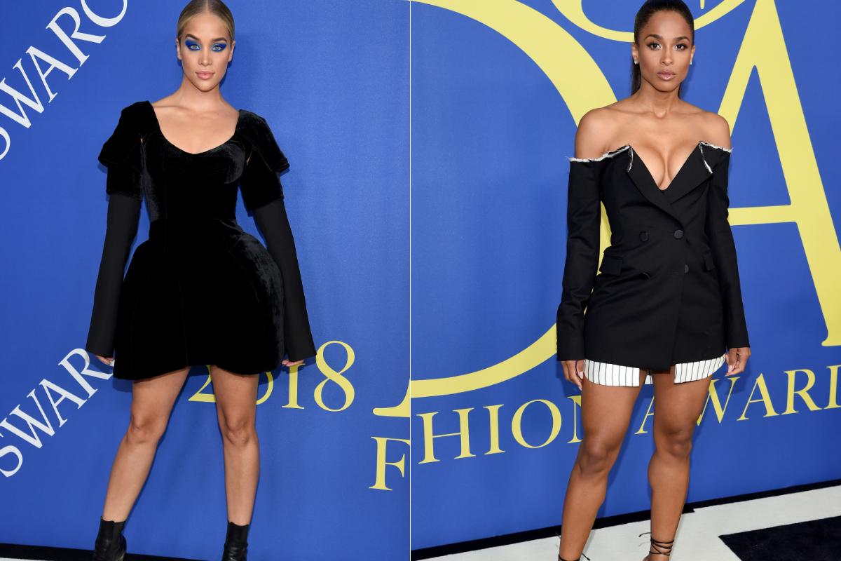 Моделът Жасмин Сандърс и певицата Сиара