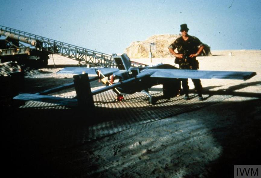 Безпилотен самолет, предназначен за разузнаване и артилерийско набелязване, използван от Британската армия през 1991 г. по време на войната в Персийския залив.