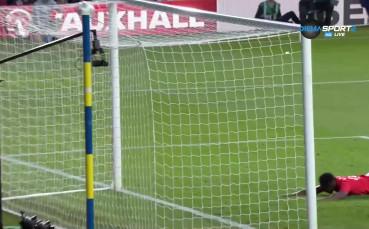Дани Уелбек удови преднината на Англия срещу Коста Рика