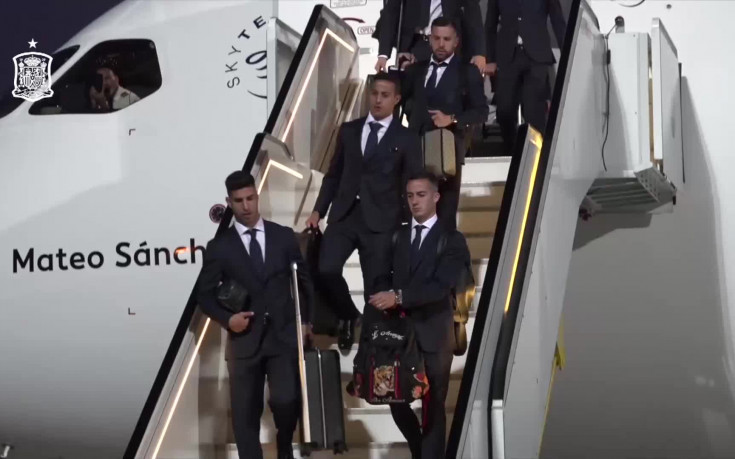 Испания пристигна в Русия