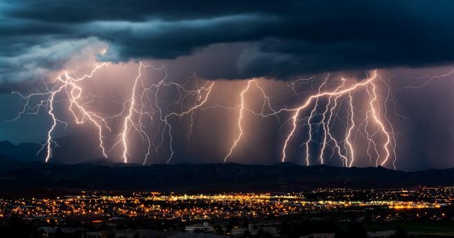 Гръмотевичните бури са едно от най-атрактивните природни явления – за