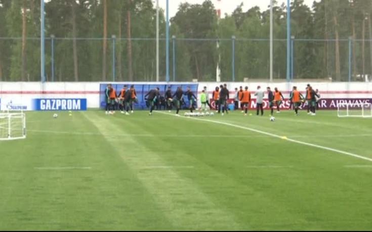 Кристиано Роналдо е доволен от условията на базата на тима в Кратово