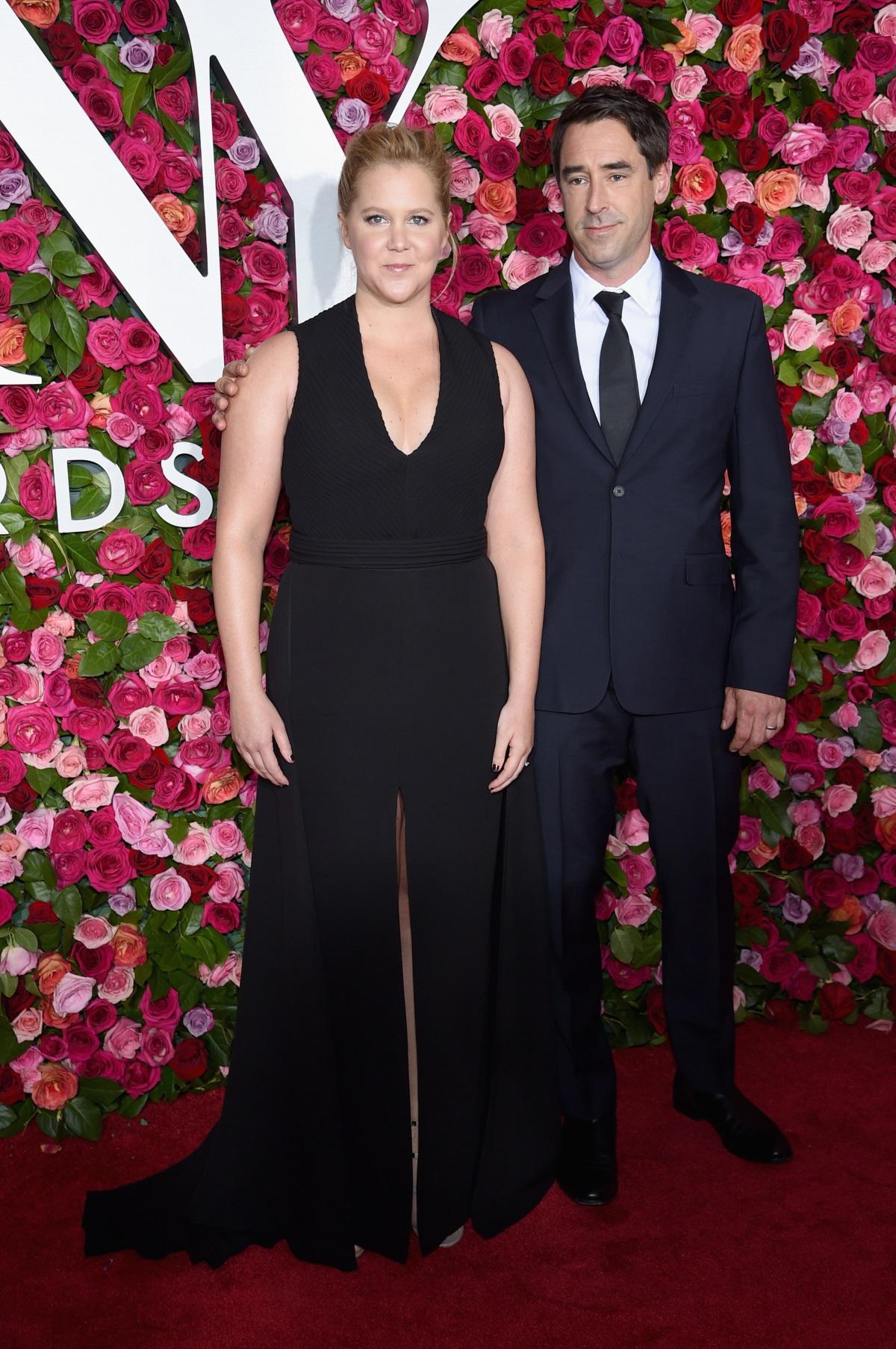 Ейми Шумър и съпругът ѝ Крис Фишър