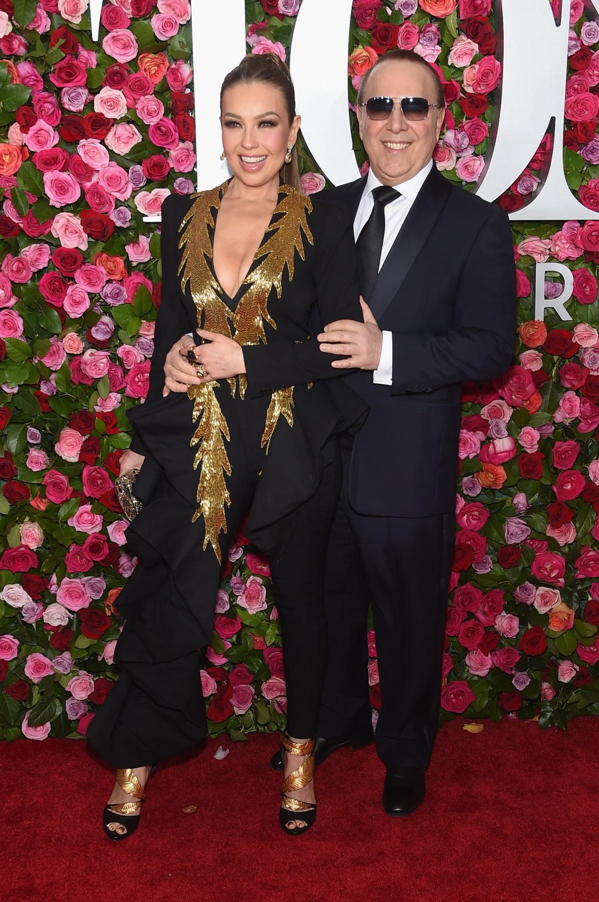 Талия и съпругът ѝТоми Мотола