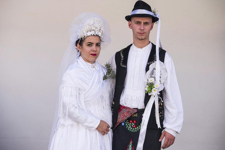 селска сватба булка традиция унгария