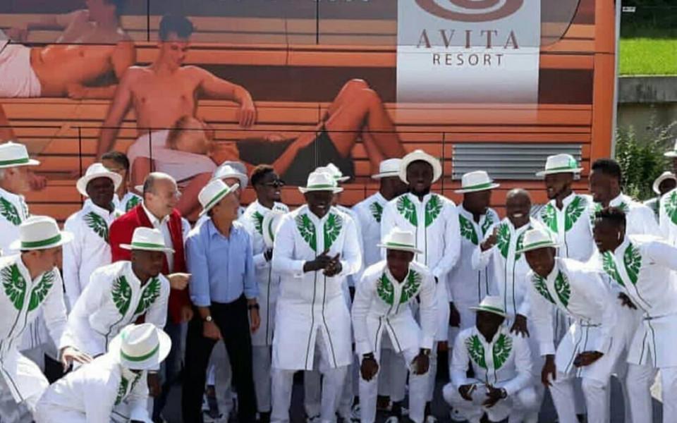 Нигерия пак открадна шоуто преди Мондиала