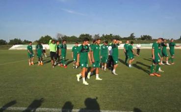 Берое с първа тренировка за сезона