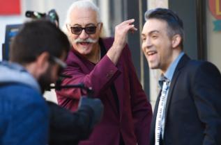 """Юлиан и Етиен Леви по време на снимките на клипа """"Променен"""""""
