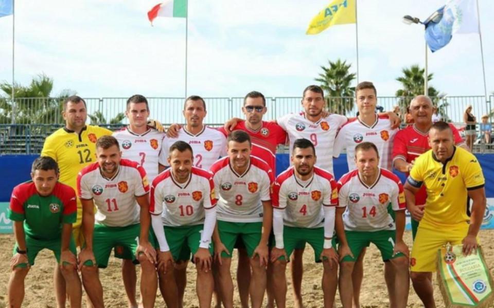 Националите по плажен футбол играят в удобни за гледане часове в Евролигата