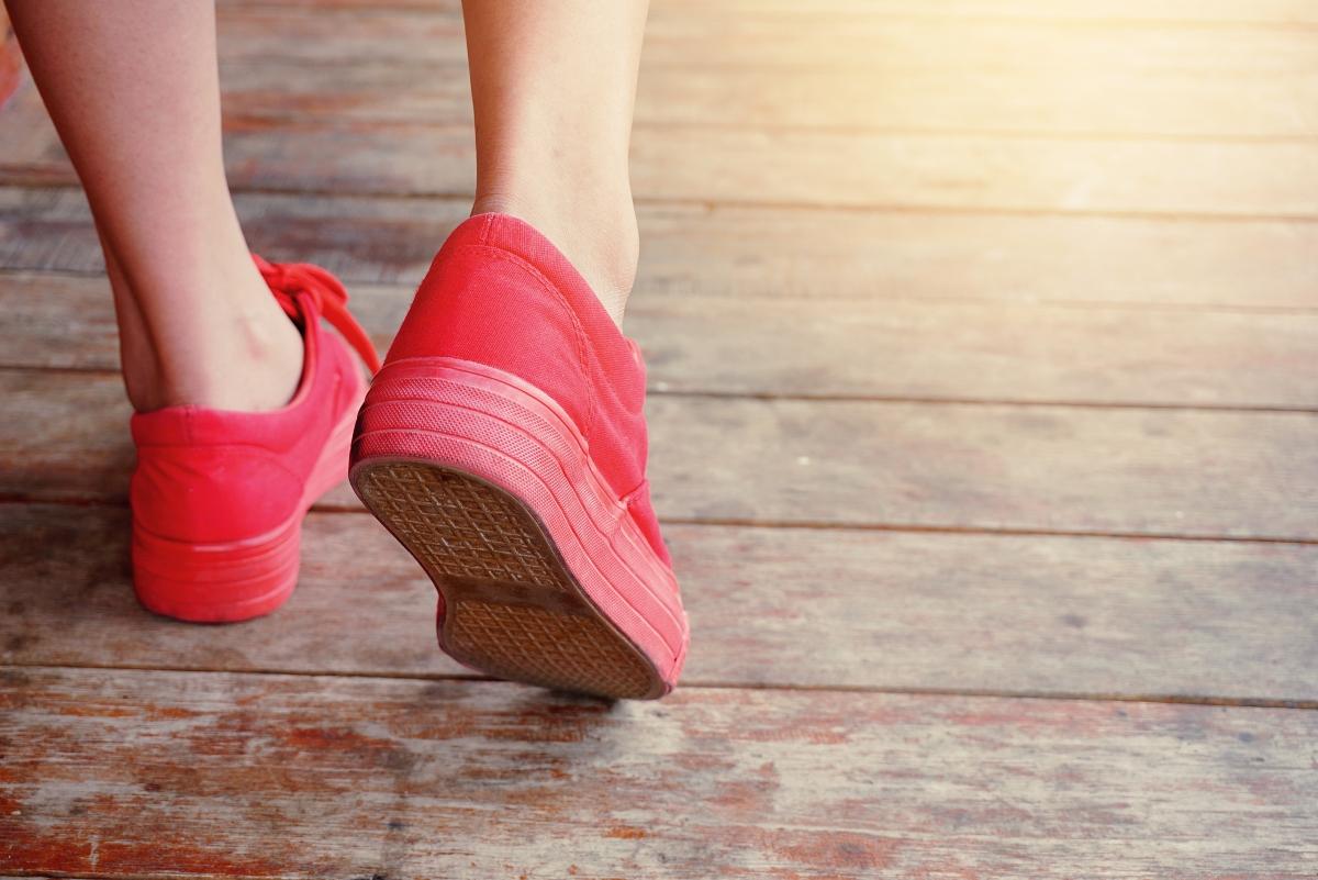 Удобните обувки са задължителни.