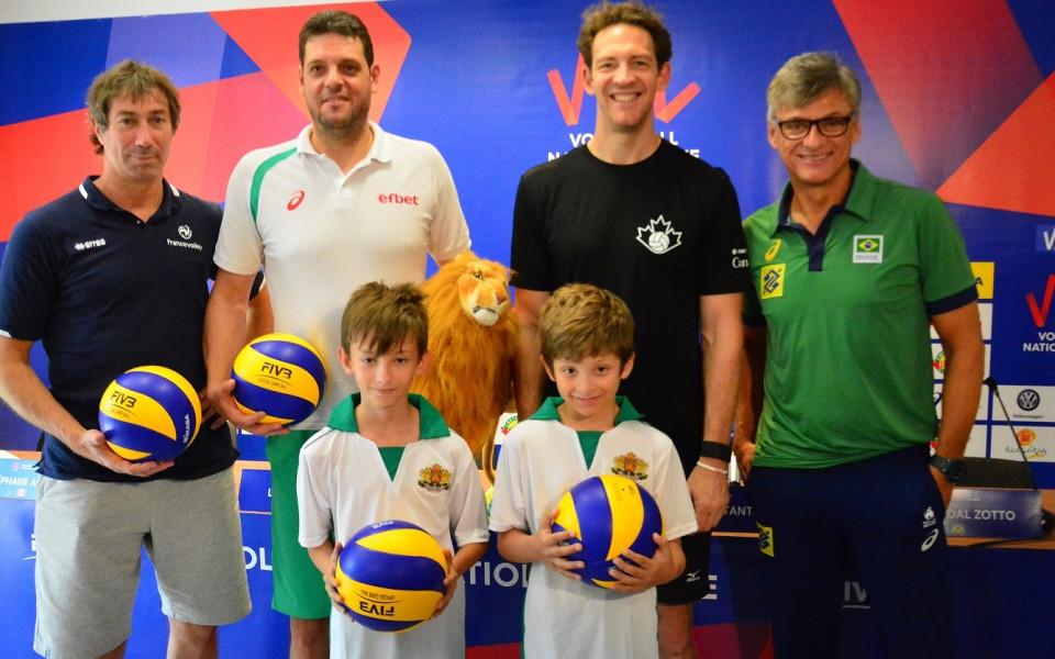 Волейбол на високо ниво чакат във Варна в Лигата на нациите
