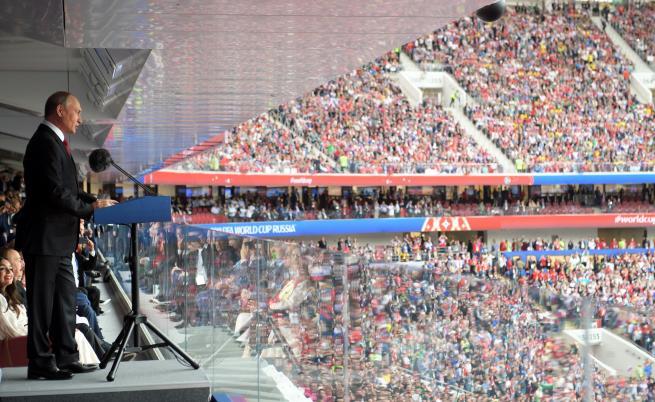 Със скандали и победа започна Световното по футбол в Русия