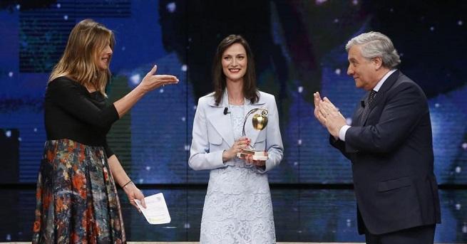 Българският комисар по цифровата икономика и обществоМария Габриелстана носител на
