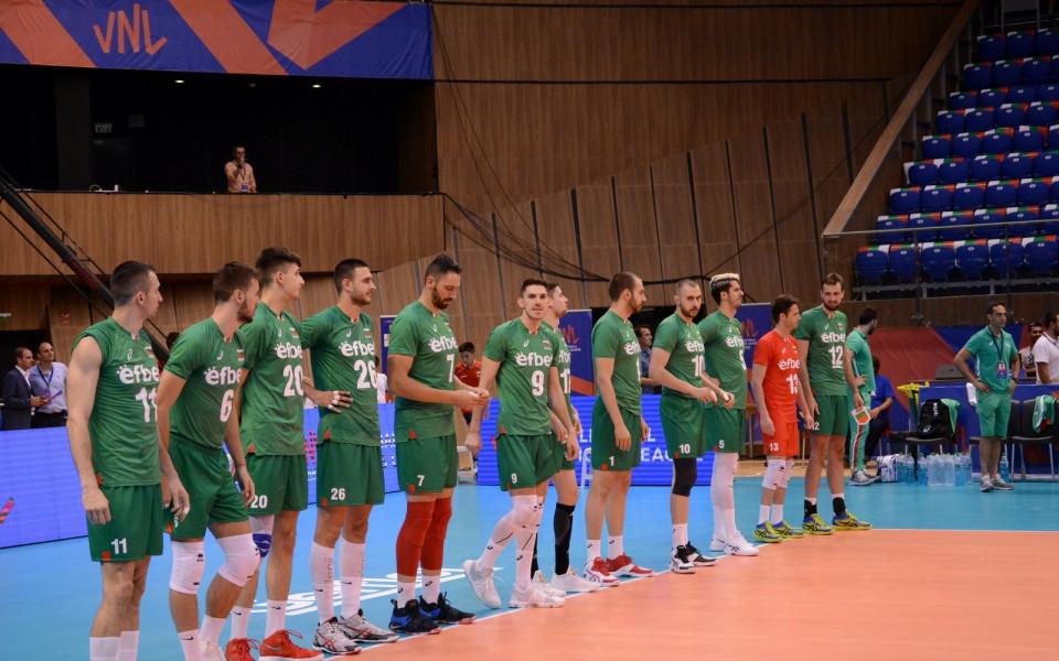 Волейболистите на България разбиха Канада в Лигата на нациите