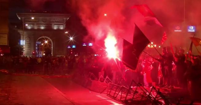 В арена на сблъсъци между протестиращи и полиция се превърна